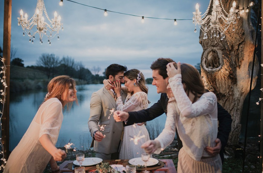 Thumbnail for You'll Go Starry-Eyed for This Woo-Woo Wedding Trend Spotted by Etsy's Experts