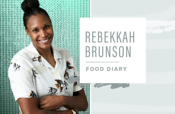 WNBA player Rebekkah Brunson shares the plant-powered food that keeps her strong on and off the court