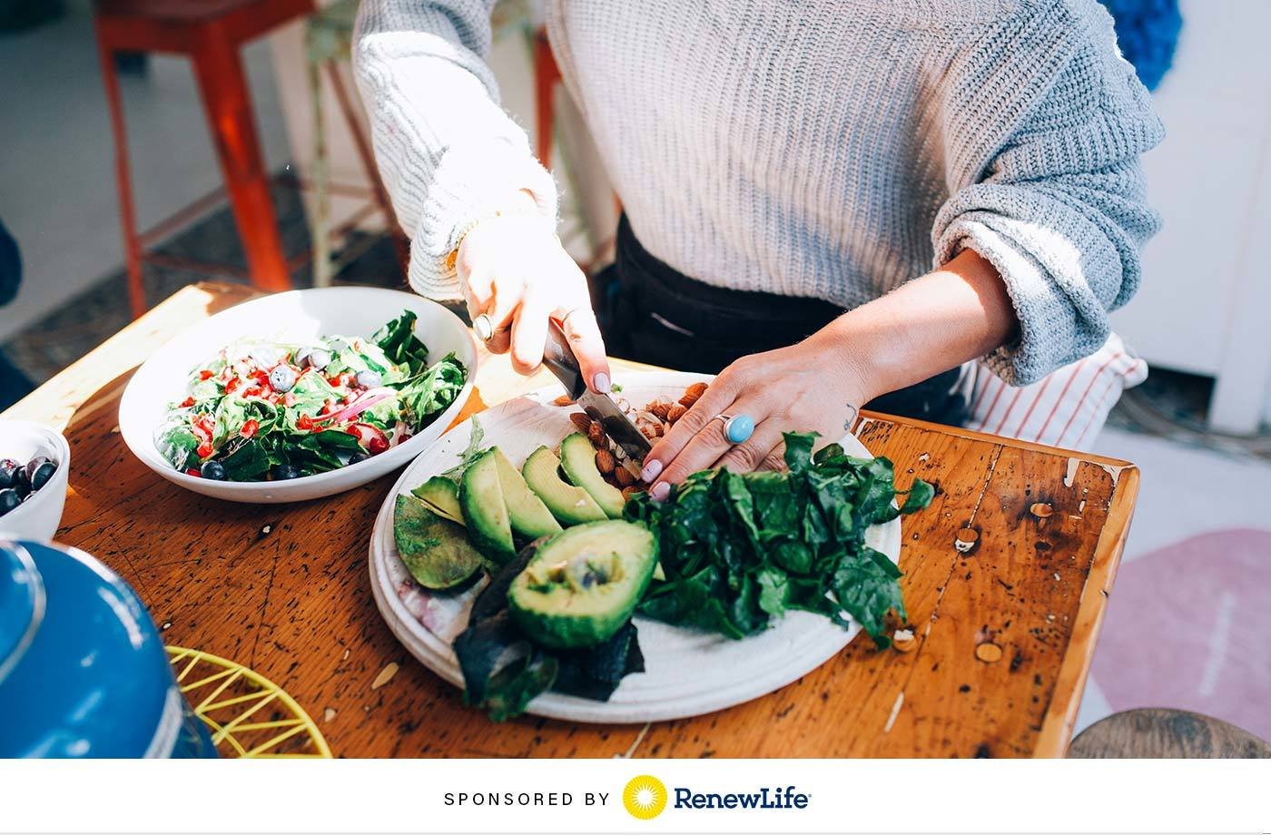 Yep, Your Microbiome Needs A Good Spring Cleaning Too—Here's How What You're Eating Can Help