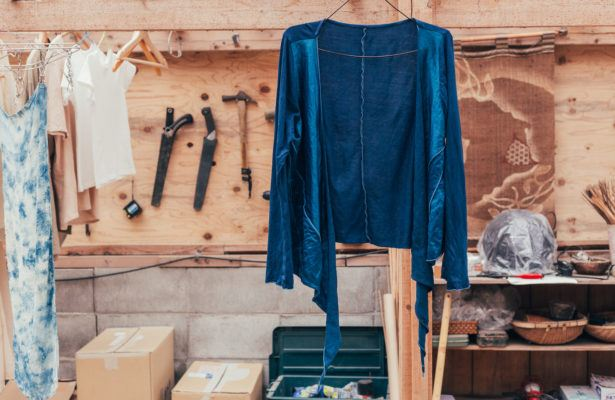 Dyeing your own clothes is the ultimate way to upcycle your old stuff