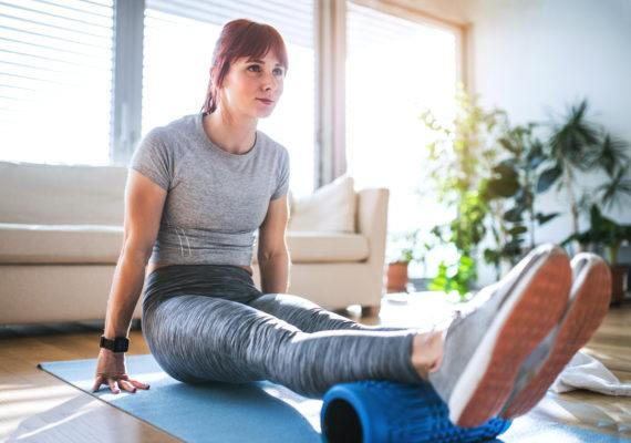 Foam rolling's secret perk? Doing it *before* a workout makes your muscles even more effective