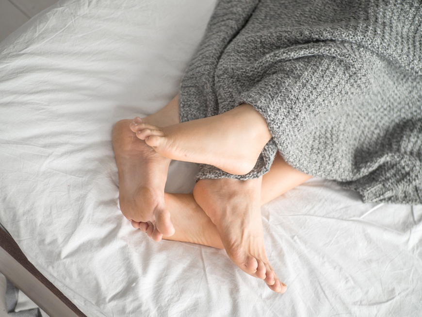 Couple sleeping positions and what they mean for you