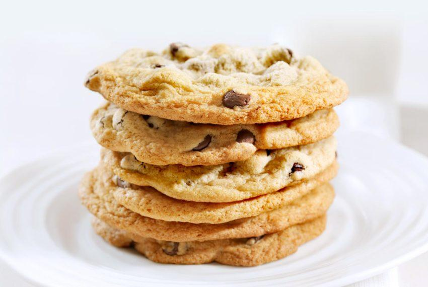These chocolate chip cookies taste so good you can't even tell...