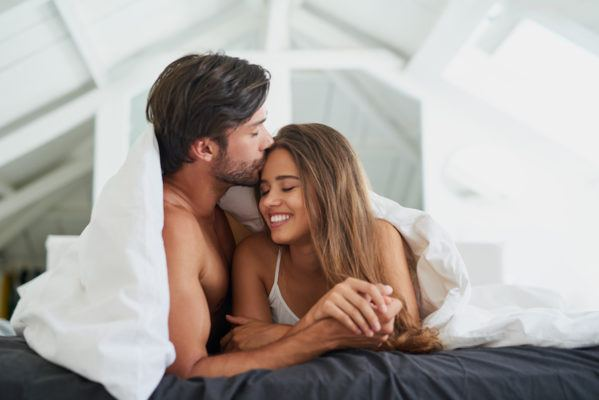 "The deeper meaning behind couples' sleeping positions (besides ""my arm hurts"")"