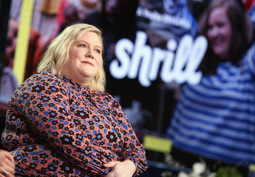 "Thumbnail for Lindy West gets ""Shrill"" about bathing suits and toxic bosses—and promises to only get louder"