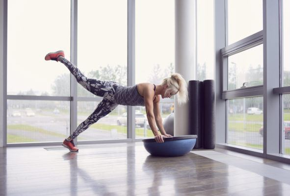 The 3-move Bosu ball workout that will have your whole body burning