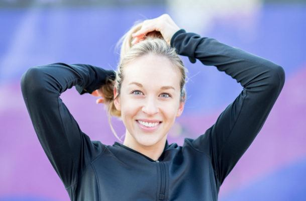 Why you should be using dry shampoo before your workout—not after