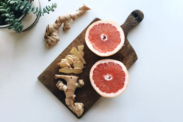 Rubbing ginger all over your forehead might soothe headaches