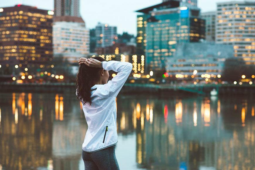 A scenic view does wonders for your happiness—even in the city
