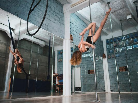 I fell in love with pole classes, and TBH I've never felt stronger