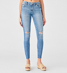 Thumbnail for Streetwear is stealing the 7/8 leggings look with ankle-cut denim