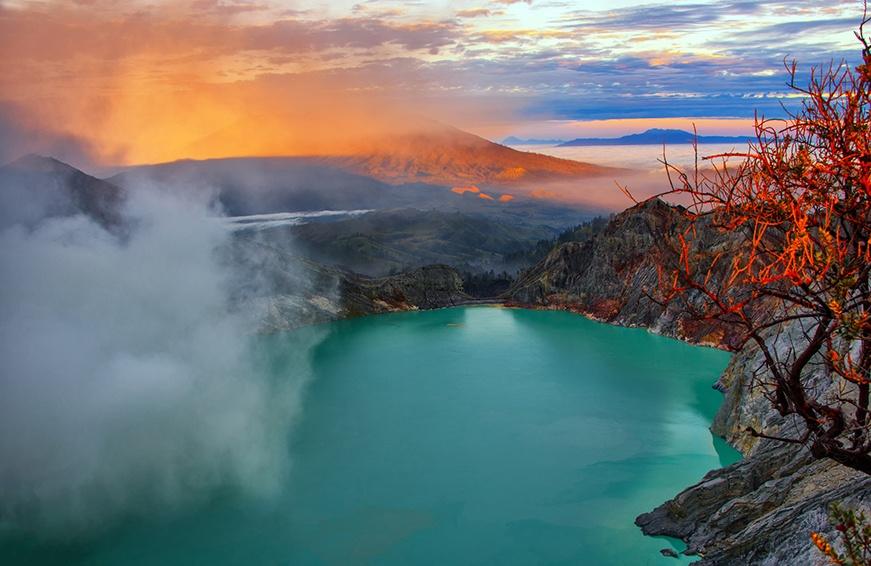 Kawah Ijen Vulkan