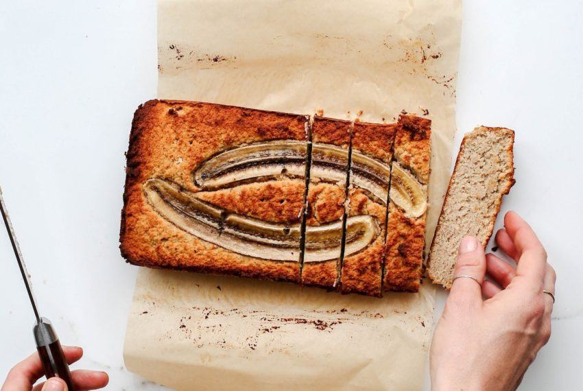 Put those mushy bananas on your counter to good use with this vegan banana bread recipe