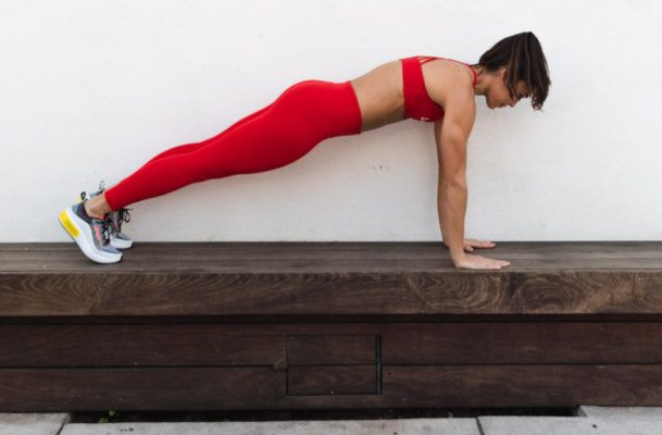 Want to bump up the intensity of your core workout? Just add dumbbells