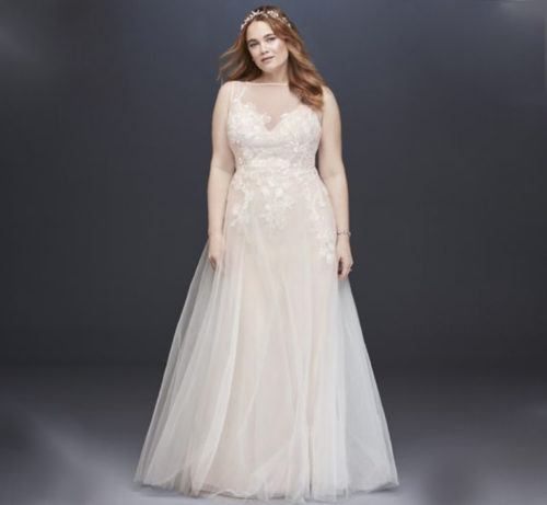 David Bridal Bridesmaid Dresses Plus Size: Affordable Wedding Dresses Under $700, For Every Body Type
