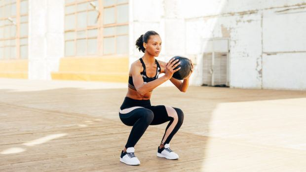 Medicine ball moves are the most overlooked way to fire up your entire body