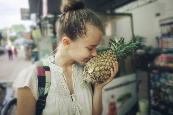Pineapple skin care is the vitamin C-packed way to exfoliate and brighten all at once