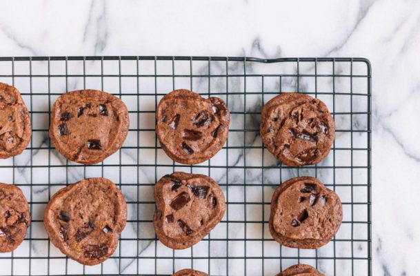 Pass the delicious grain-free double chocolate chip cookies, please!