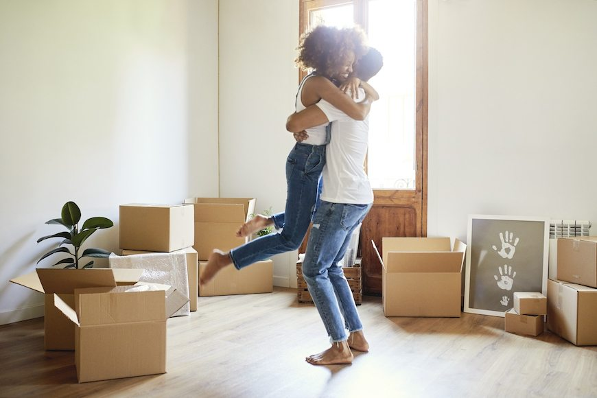 First comes love, then comes…a shared address, if you're dating in today's society