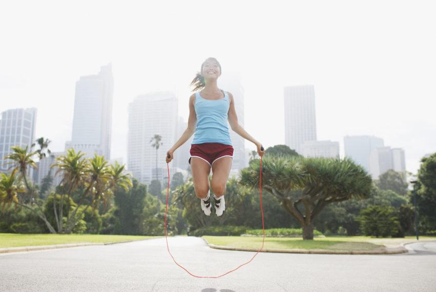 How to master jump rope double-unders (Step 1: Drop the rope and clap your hands)