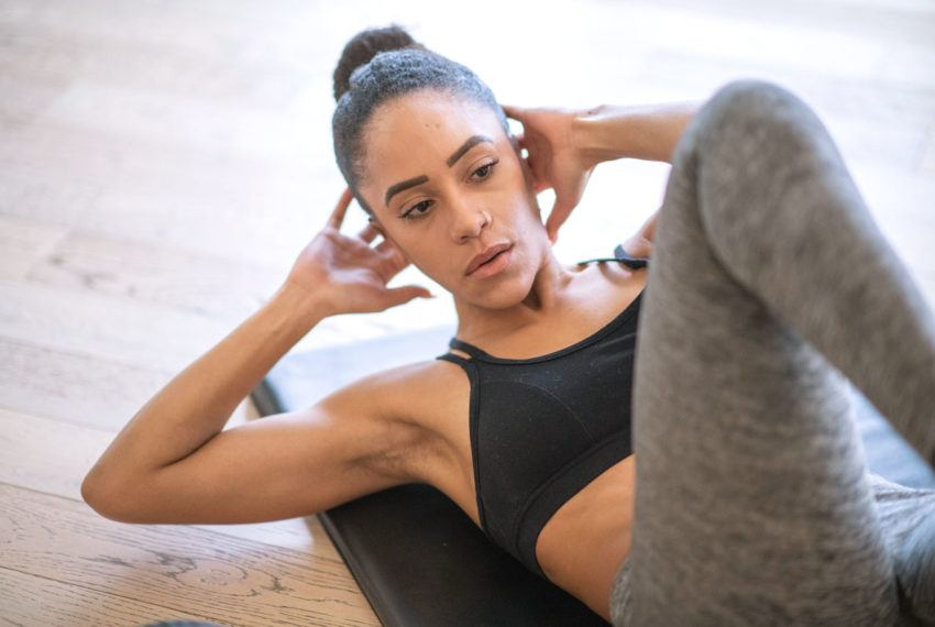 8 abs moves that go above and beyond to work your entire body