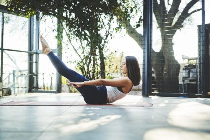 Why sitting still in your workout is just as effective as your sweatiest moves