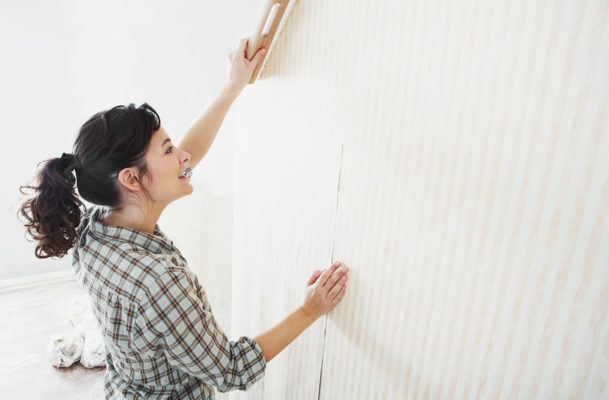 """Searches for """"peel stick wallpaper"""" are up 385% on Etsy, so here are 9 designs to give your home an instant upgrade"""