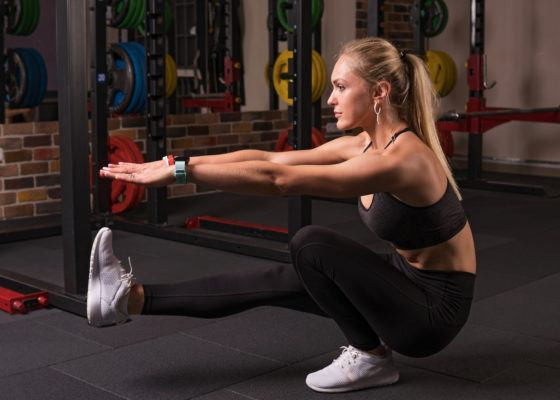 Master the pistol squat (finally!) with these simple modifications
