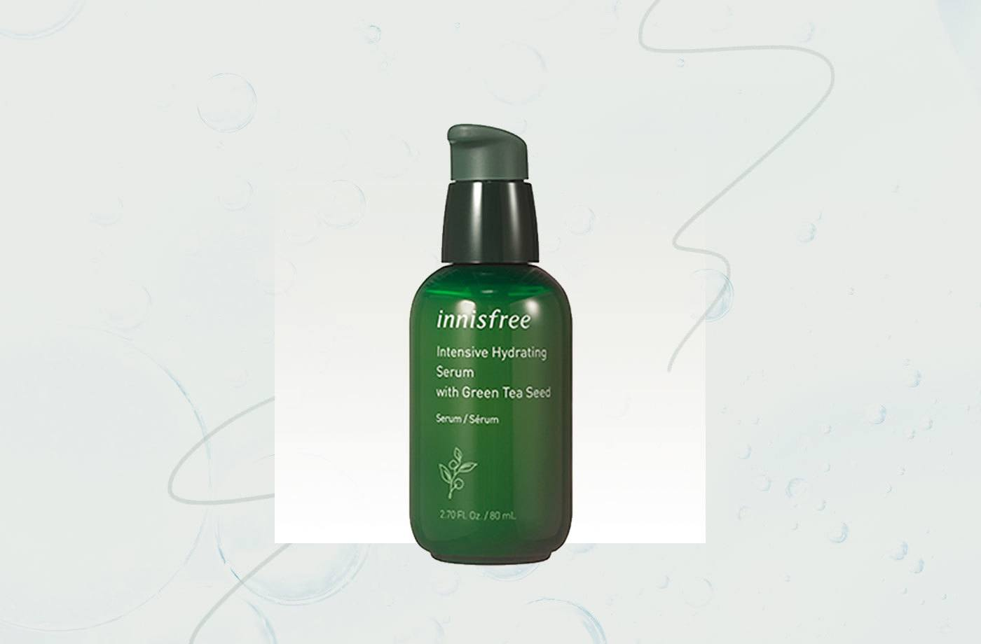 This buzzy K-beauty green tea serum sells 11 bottles per minute worldwide