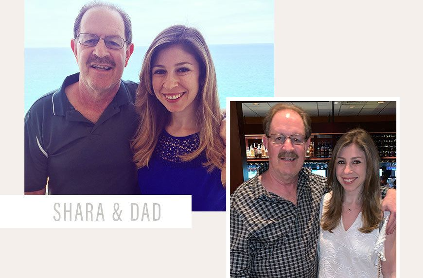 Family caregiver Shara Seigel and her father