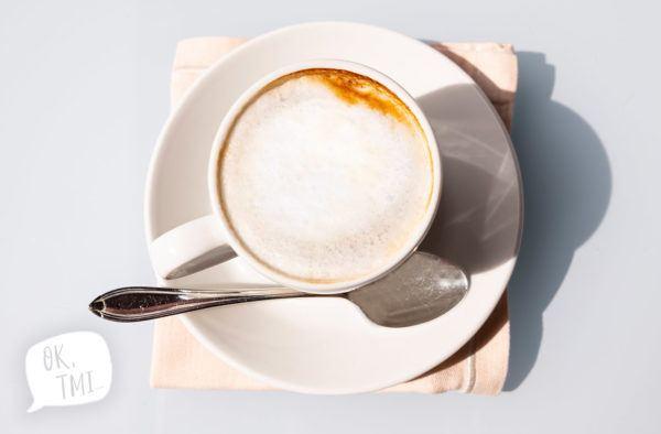 why does coffee make you poop