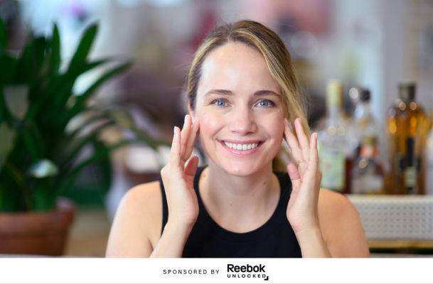 The *exact* steps to giving yourself a mini-workout facial massage