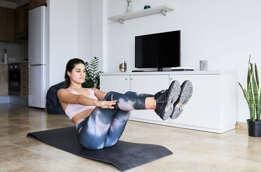 Thumbnail for Pack your bags, your ab workout is going places with suitcase sit-ups