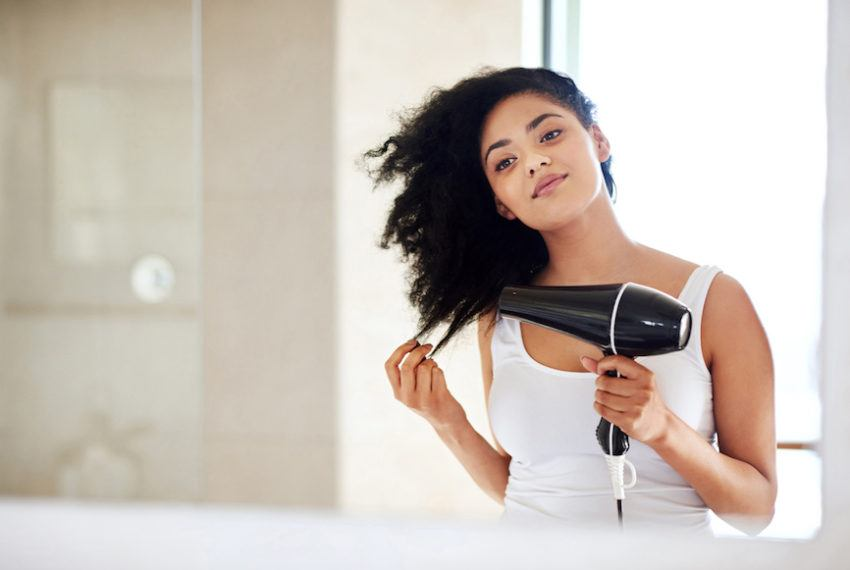 """The cool temp on your hairdryer is the """"easy button"""" for an amazing..."""