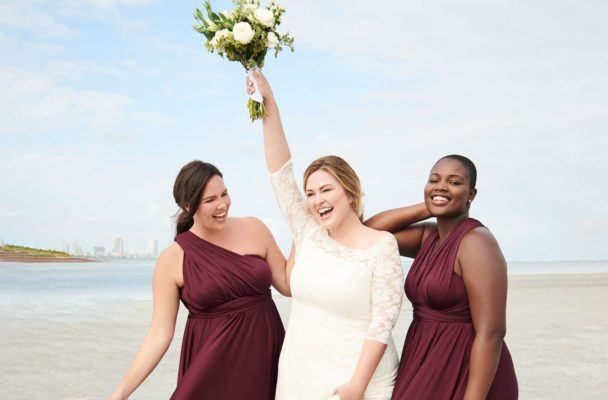 Walk down the aisle with confidence in one of these size-inclusive wedding dresses under $700