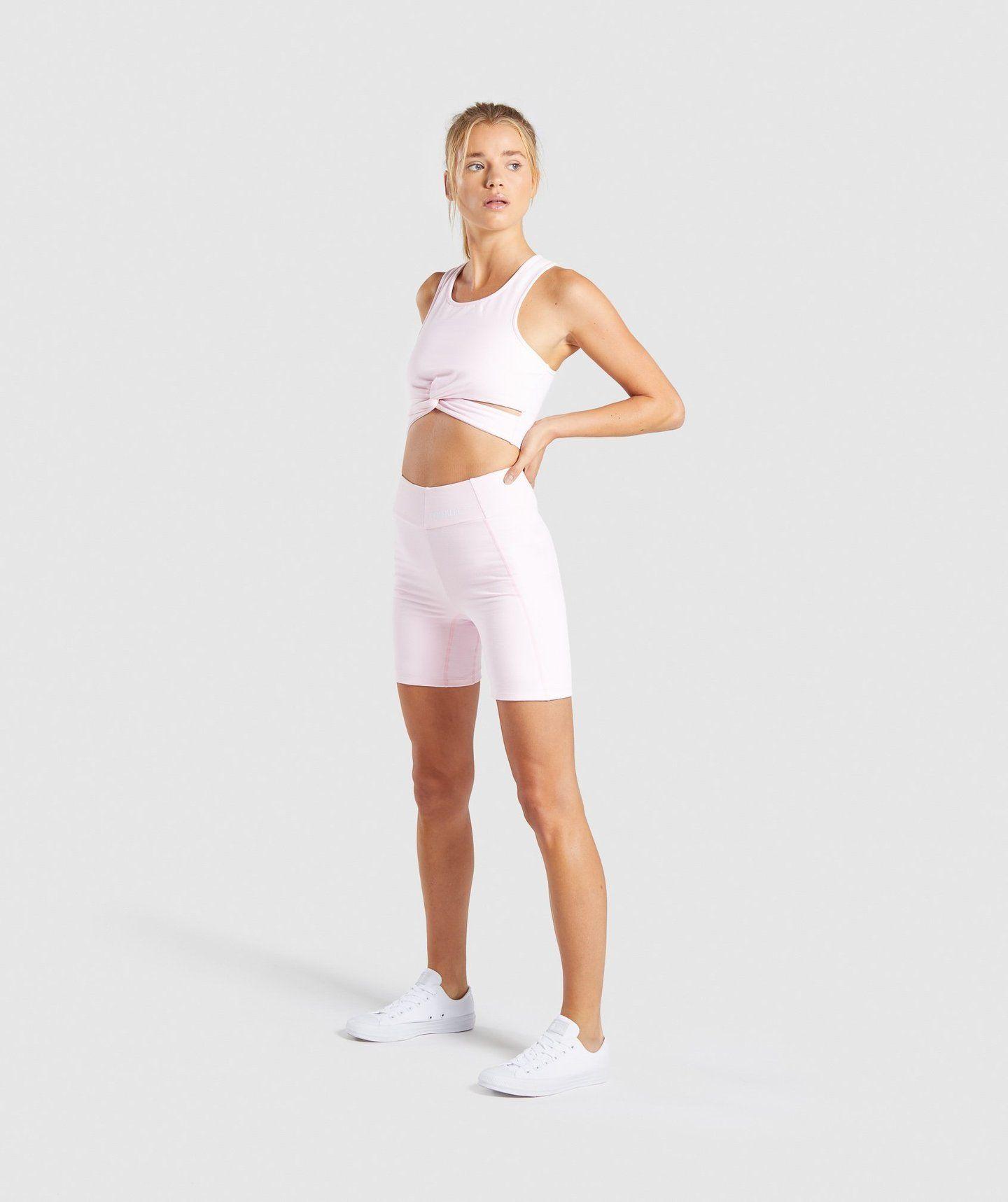 pastel bike shorts
