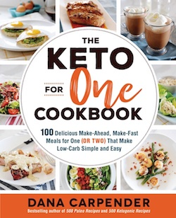 keto for one cookbook