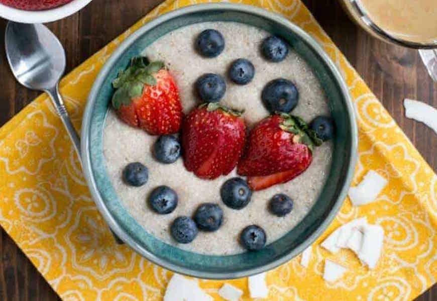 ketogenic porridge recipe