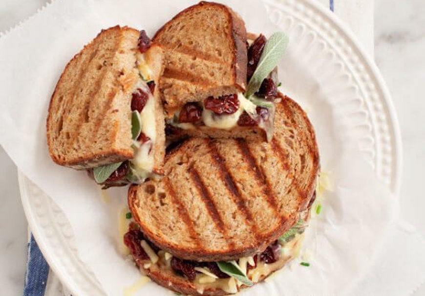 tart cheery grilled cheese