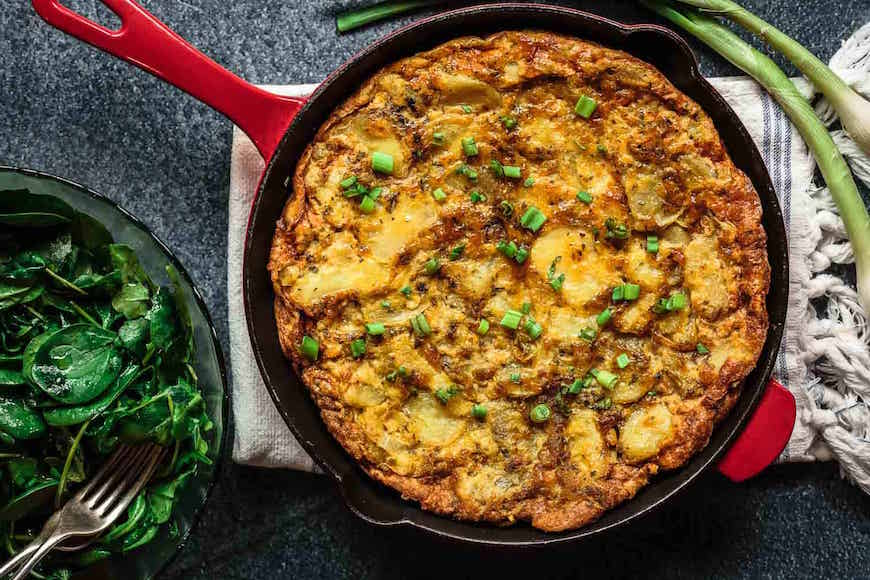 This Spanish tortilla breakfast gives you back your mornings | Well+Good