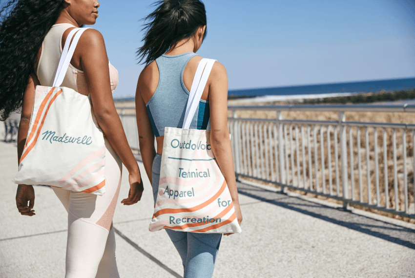 Everything about the Outdoor Voices x Madewell collab is cute—but honestly, I'm here for the tote
