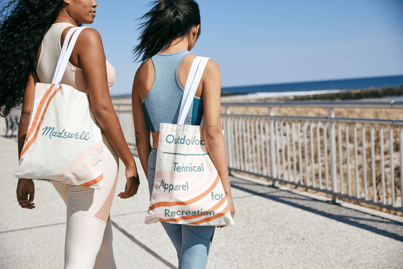 Thumbnail for Everything about the Outdoor Voices x Madewell collab is cute—but honestly, I'm here for the tote
