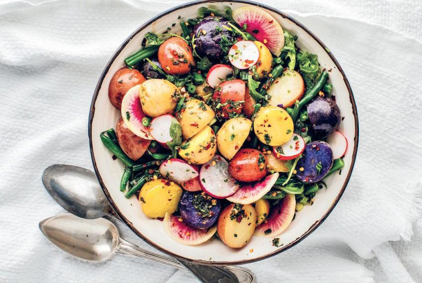 This healthy twist on potato salad is here to upgrade your 4th of July spread
