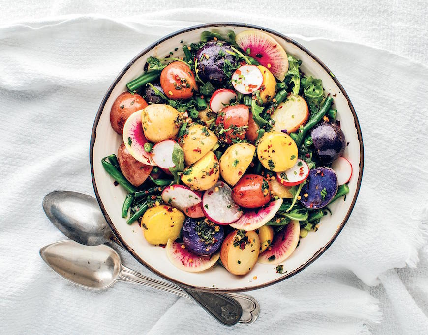 Recipe For Healthy Potato Salad