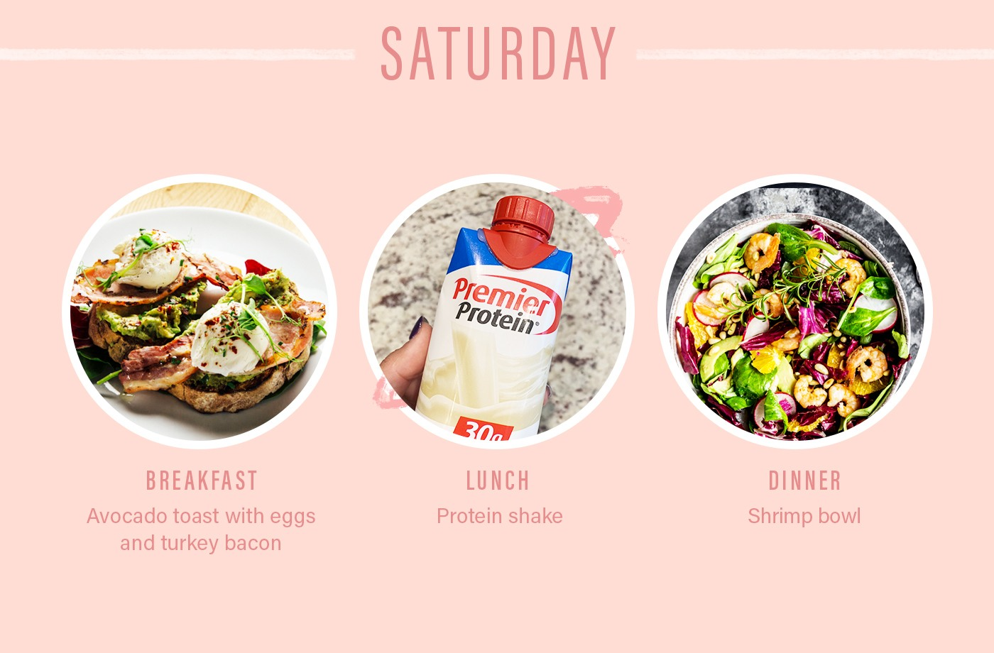 orangetheory food diary saturday