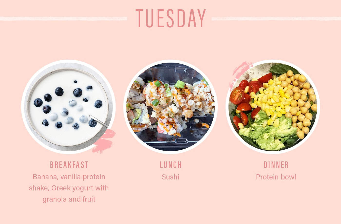 orangetheory food plan tuesday