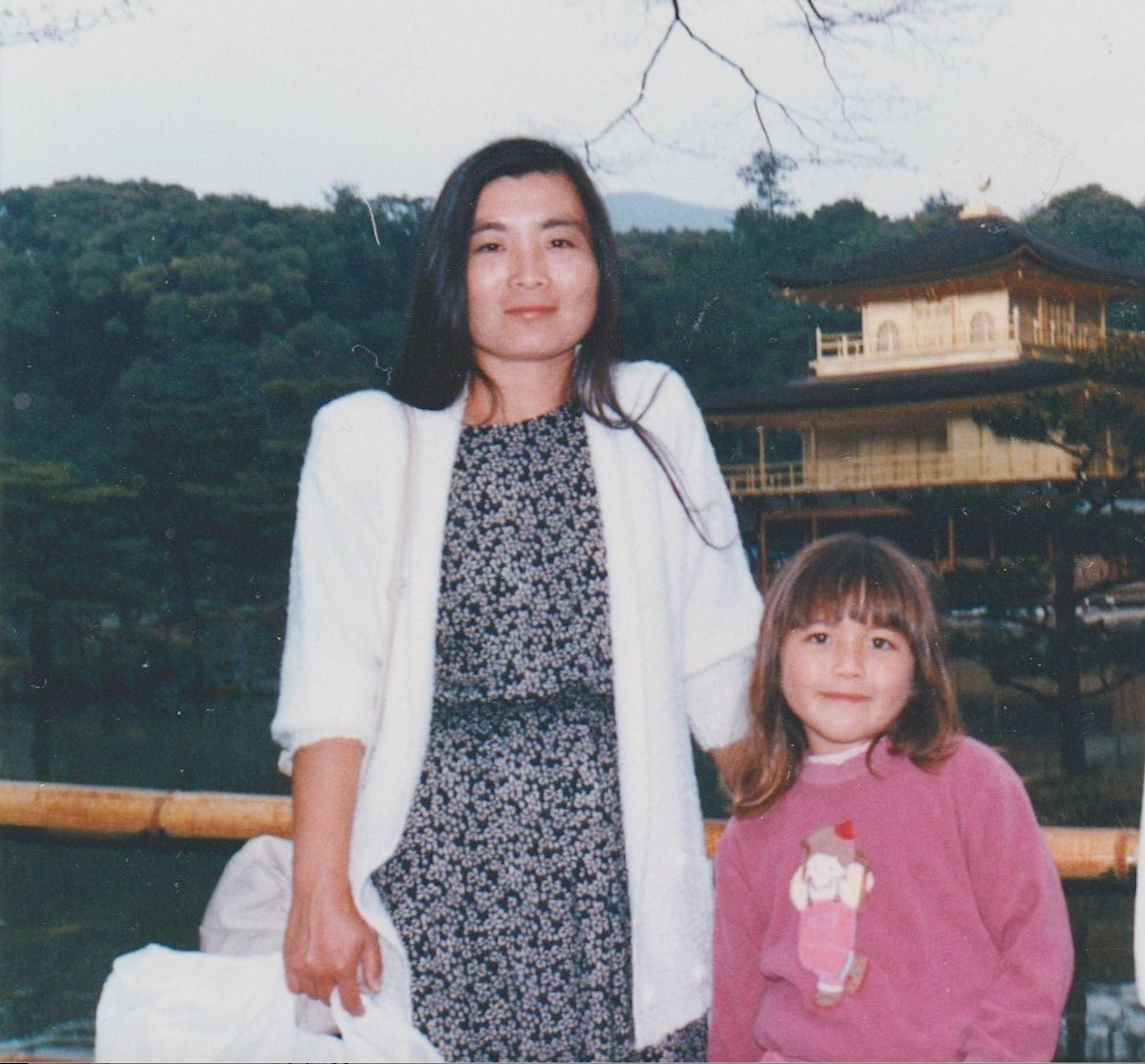 candice kumai and her mom