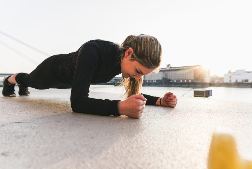 This 6-move plank workout is anything but boring and will leave your body *burning*