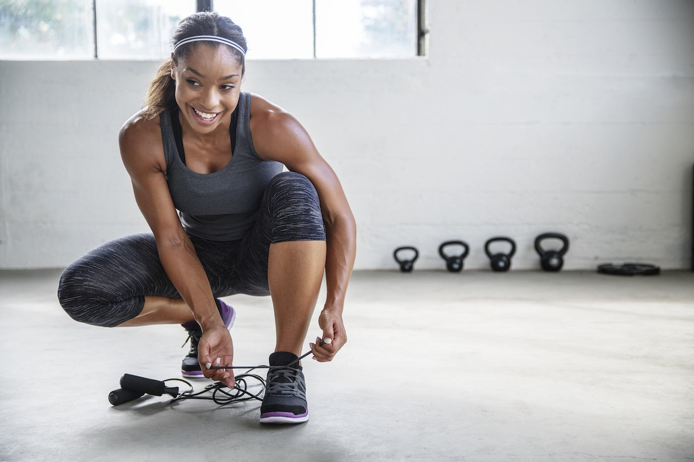 *This* is the perfect balance of squats and lunges to work your lower half