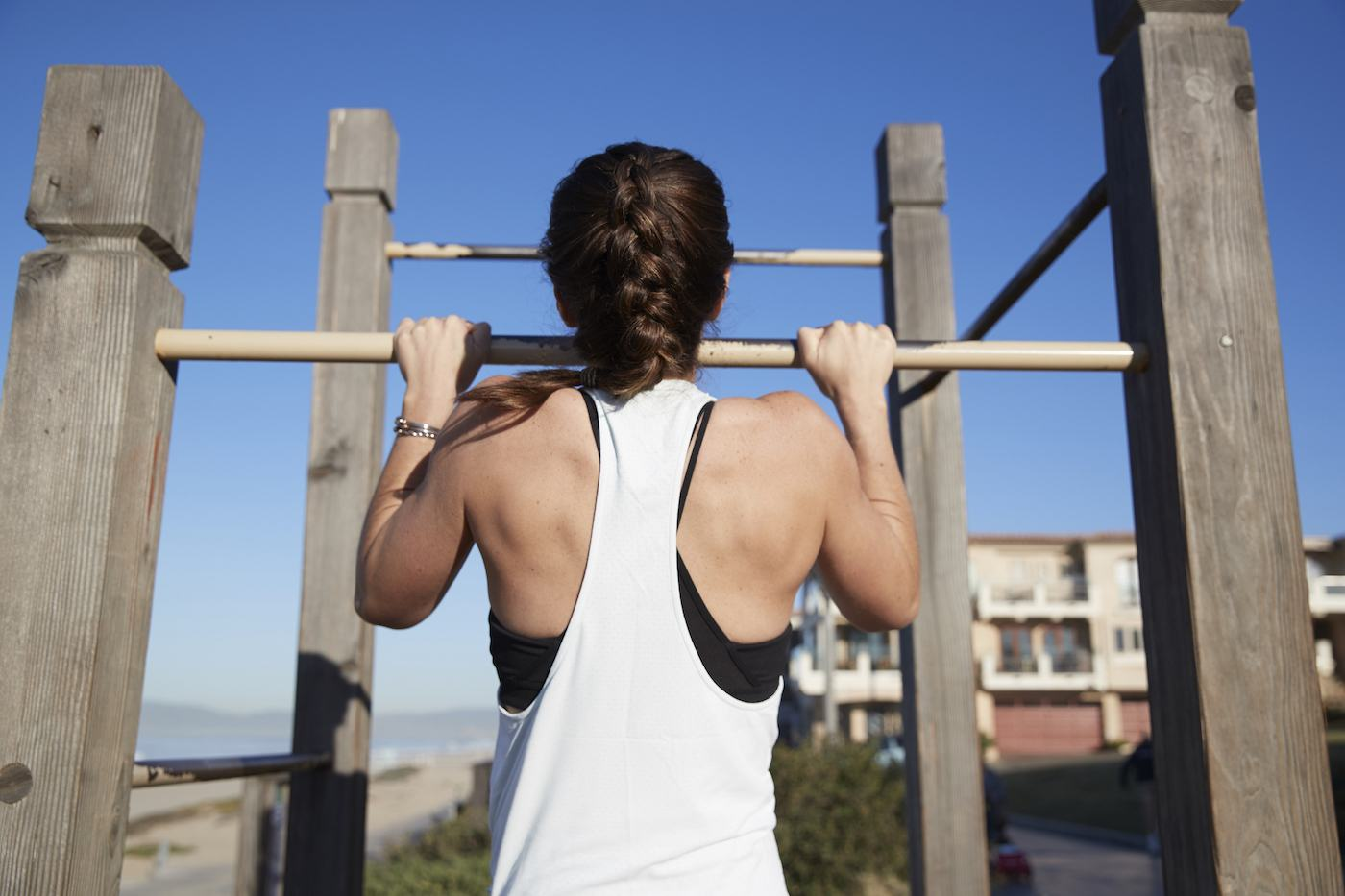Negative pull-ups are part of the most positive workout | Well+Good